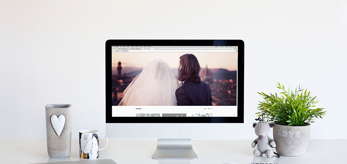 love – 6 iMac photo mockups