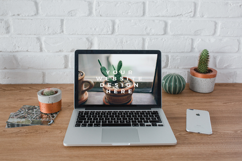 Home workspace – 6 photo mockups