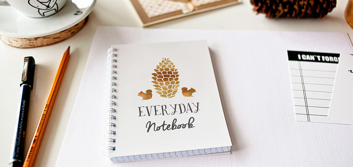 Notebook – 5 photo mockups